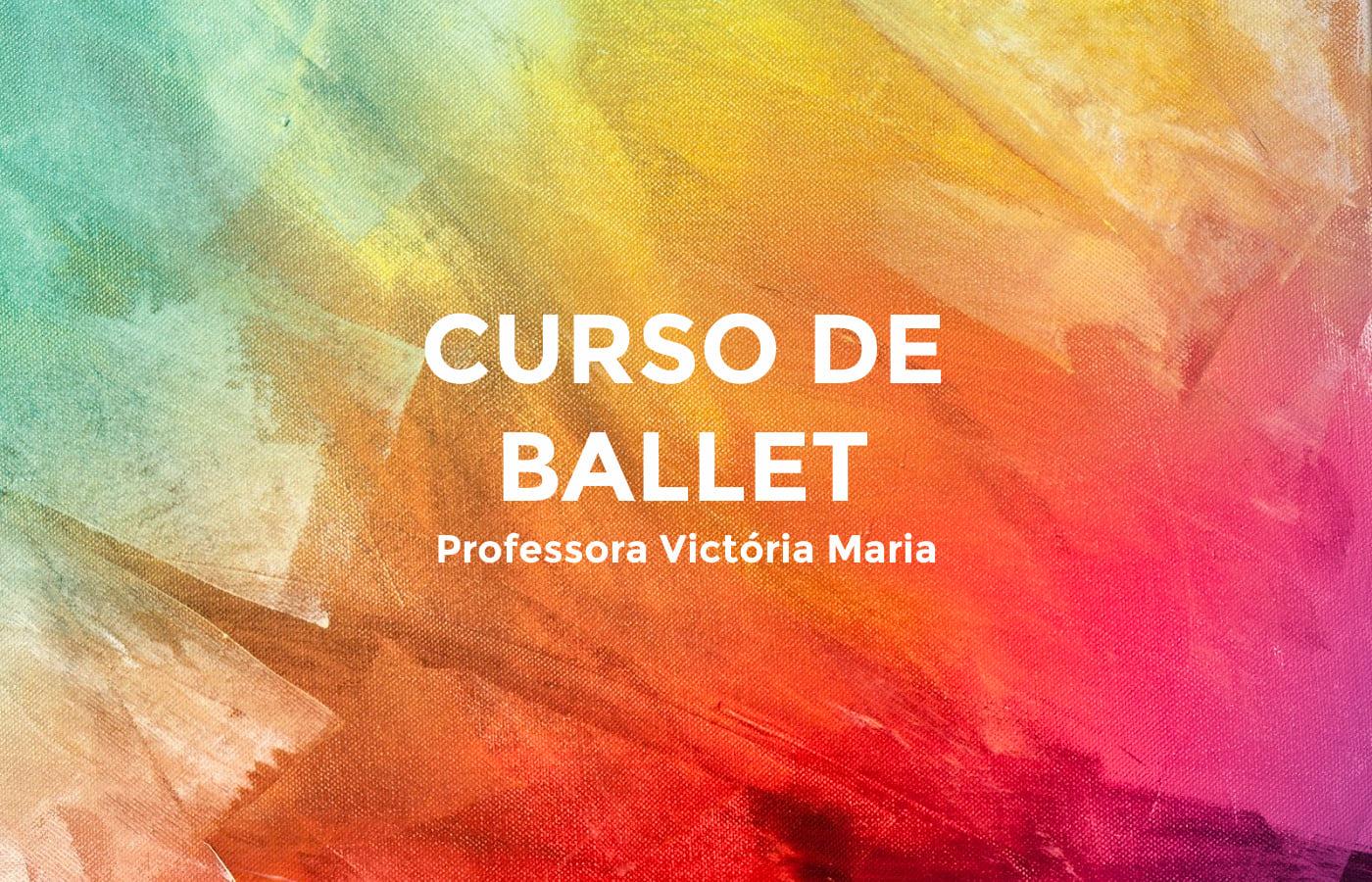 Curso de Ballet Bertioga Victória Maria