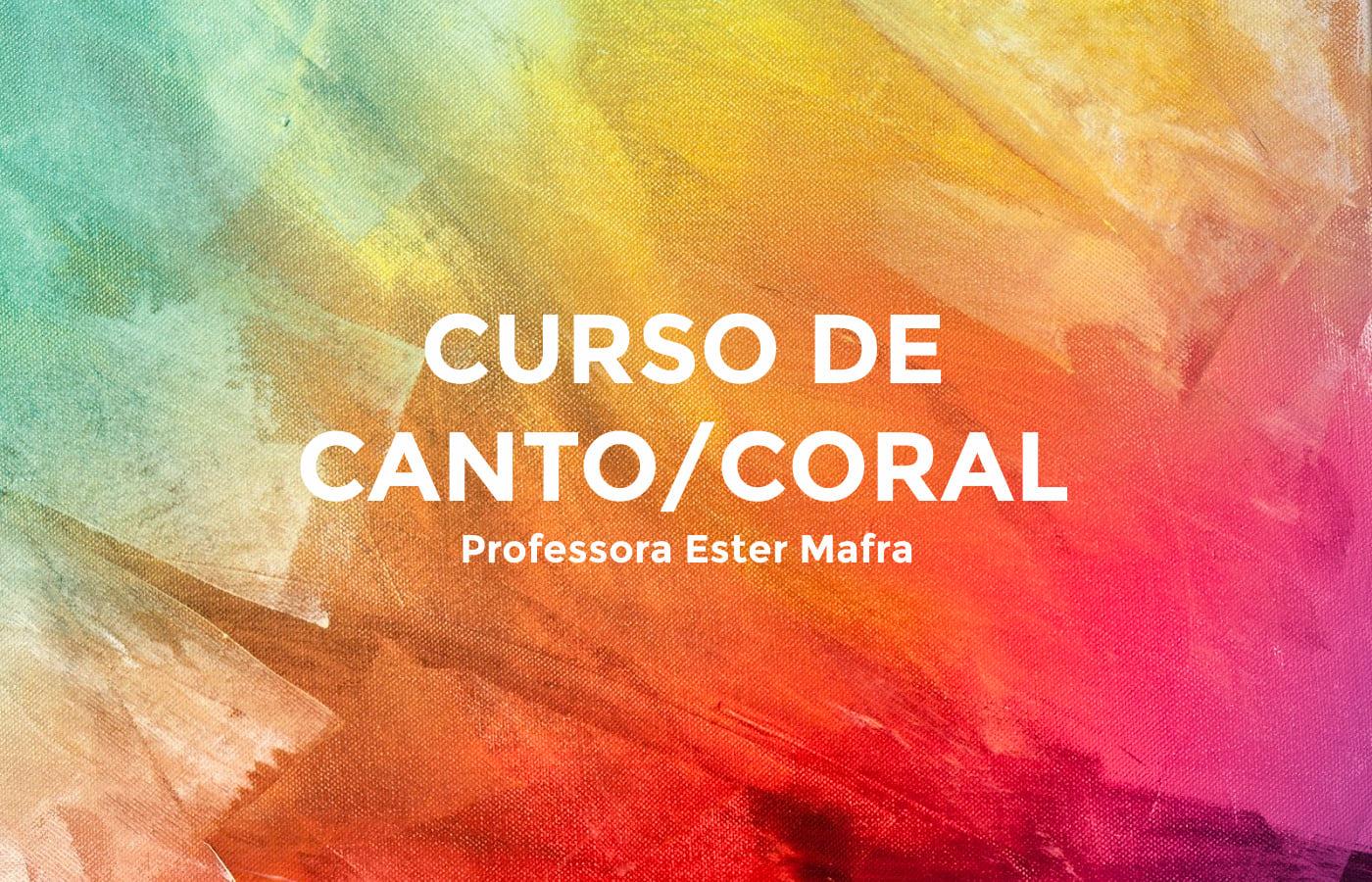 Curso de Canto Bertioga Ester Mafra